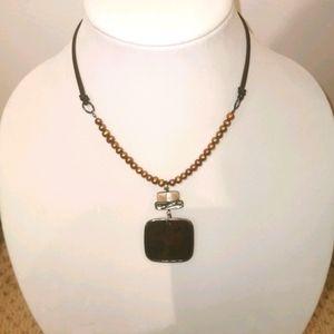 Silpada retired boho style necklace